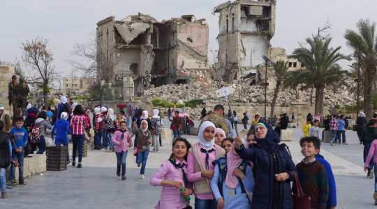 2. Photo - Once the dust settles -Aleppo1  - photo by John Appel-300DPI